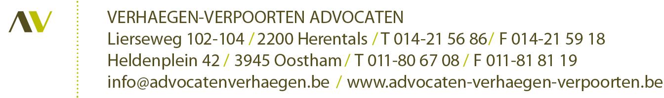 adresgegevens Advocaten Verhaegen - Verpoorten Herentals